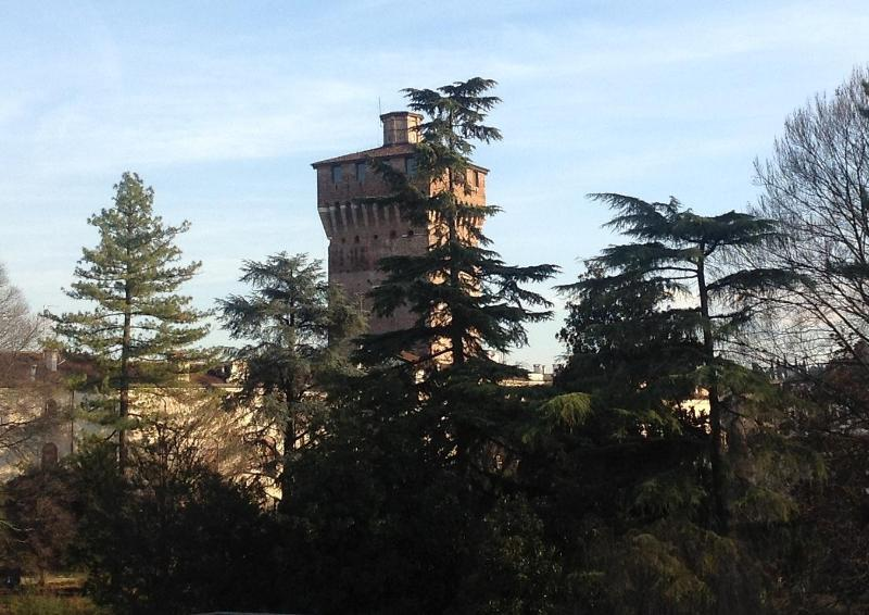 View on Giardini Salvi and the Tower - Vicenza Rental With Garden View - Vicenza - rentals