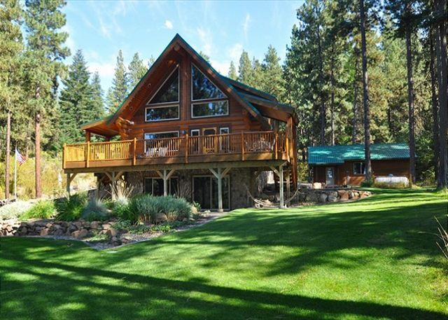 Tall Pines in the Summer! - Picturesque Log Cabin on 5 Private Acres!  5BR, 3BA! Get FREE Summer Nights! - Cle Elum - rentals