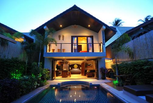 Balcony overlooking private pool and terrace - Koh Samui Luxury Villa Chok - Koh Samui - rentals