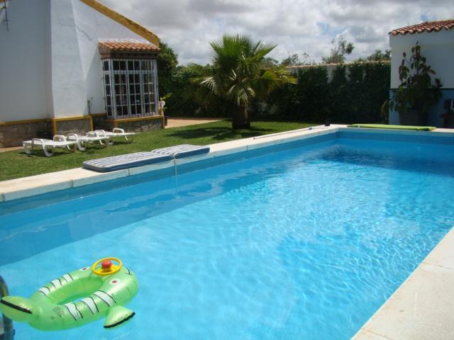 Swimming pool - Villa La Alegria, 4-7 guest, private pool, 2-3 min to the beach, Conil - Conil de la Frontera - rentals