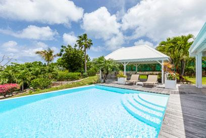 St. Martin Villa 119 Located On A Hillside In Terres Basses, Villa 119 Has Superb Sunset Views Of La Samanna And Bay Longue. - Image 1 - Terres Basses - rentals