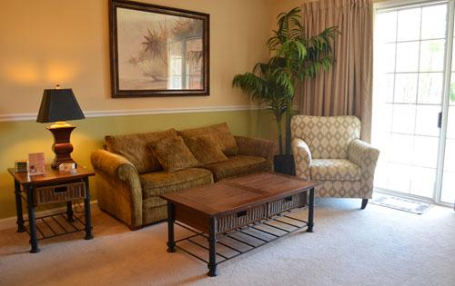 Living room - 2BR Resort Villa @ Barefoot, modern w/ WiFi/Pools! - North Myrtle Beach - rentals