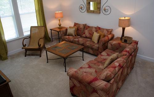 Comfortable Living Area - Lovely 3BR resort villa @ Barefoot, pool/WiFi/more - North Myrtle Beach - rentals