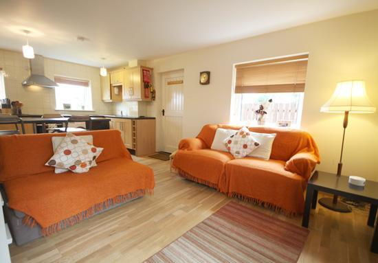 Open Plan Lounge - Sand Haven - Beadnell (A great touring base) - Beadnell - rentals