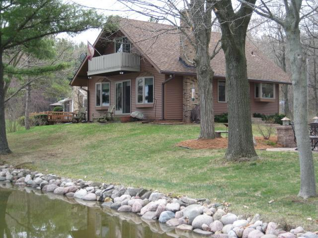 View of the house and property from the pier - Perfect Year-Round Getaway in the Kettle Moraine! - Whitewater - rentals