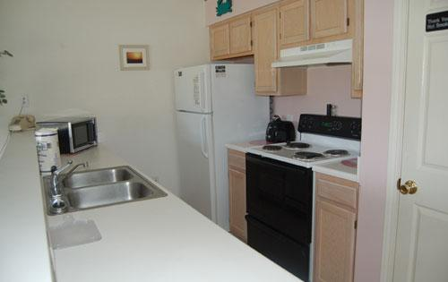 Kitchen - Modern 1BR villa @ River Oaks, great golf/pools!!! - Myrtle Beach - rentals