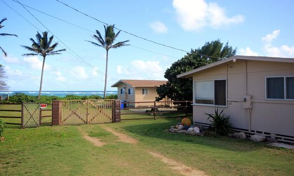 The sand and the wave awaits you at a 30-yard walk away from the property. - KeAloha Cottage = Sep-Nov 20 Special @ $175/nt - Laie - rentals