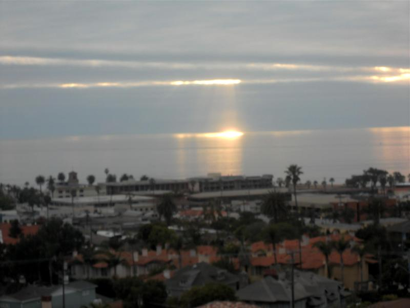 Cottage view - Sunset Cottage-180 Ocean &  downtown La Jolla view - La Jolla - rentals