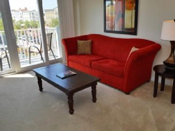 Spacious living area  - Pet-friendly 1BR @ Market Common in MB, WiFi/Pool! - Myrtle Beach - rentals