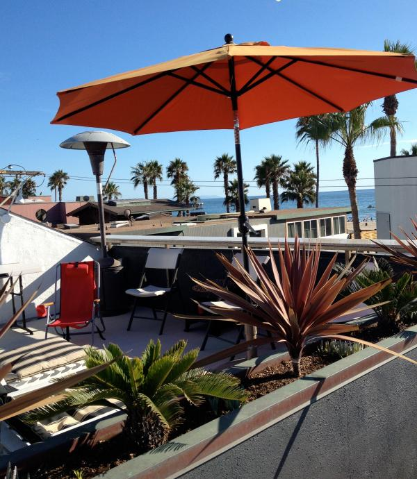 Ocean view from the rooftop deck - Venice Beach Luxury Ocean View 40 Steps From Beach - Venice Beach - rentals