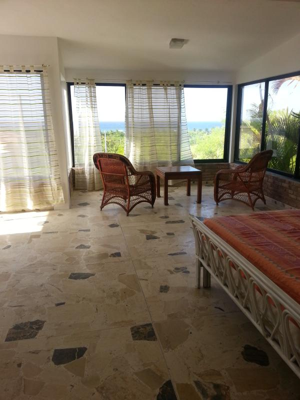 masterbedroom with kingsize bed - great ocean view house in gated community - Puerto Plata - rentals