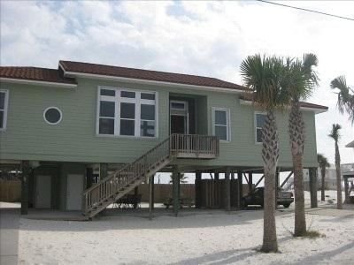 Front of Home - Beautiful, Contemporary Gulf-front Beach Home - Pensacola Beach - rentals