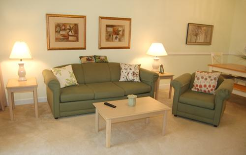 Living Room and Sitting Area - 2BR golf villa @ Barefoot Resort, pool/WiFi/more! - North Myrtle Beach - rentals