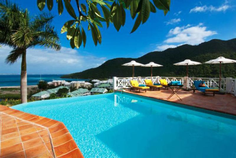 St. Martin Villa 120 Surrounded By Lush Tropical Vegetation The Villa Has A Large Infinity Pool, A Spacious Terrace And A Charming Gazebo Built Into The Hillside. - Image 1 - Cul de Sac - rentals