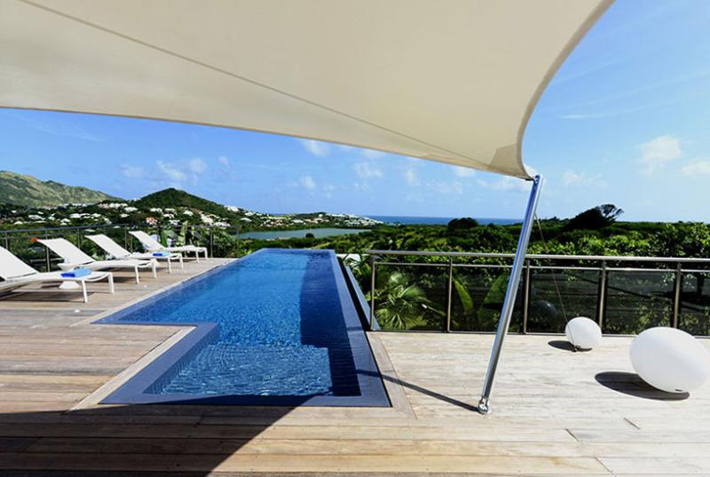 St. Martin Villa 123 A Contemporary Style Villa Located Close To The Orient Bay Area, On A Hill Side With Views East To The Atlantic Ocean. - Image 1 - Hillside - rentals