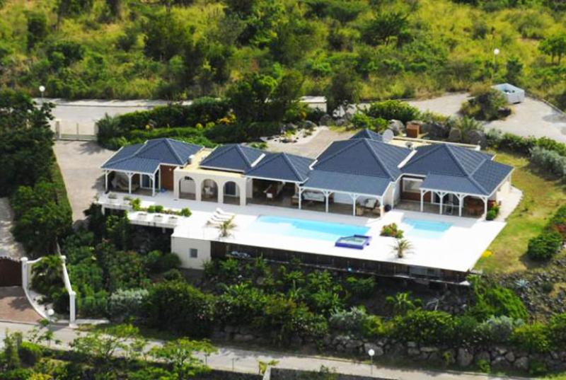 St. Martin Villa 124 The Major Asset Of This Beautiful Property Is The Infinity Edged Pool Terrace, 2 Heated Pools And The Spa And Stunning Views. - Image 1 - Saint Martin-Sint Maarten - rentals
