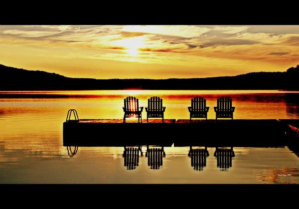 "Spectacular Views! - Silver Eagle Cottages, ""The Lodge"" Haliburton Ontario - Haliburton Region - rentals"