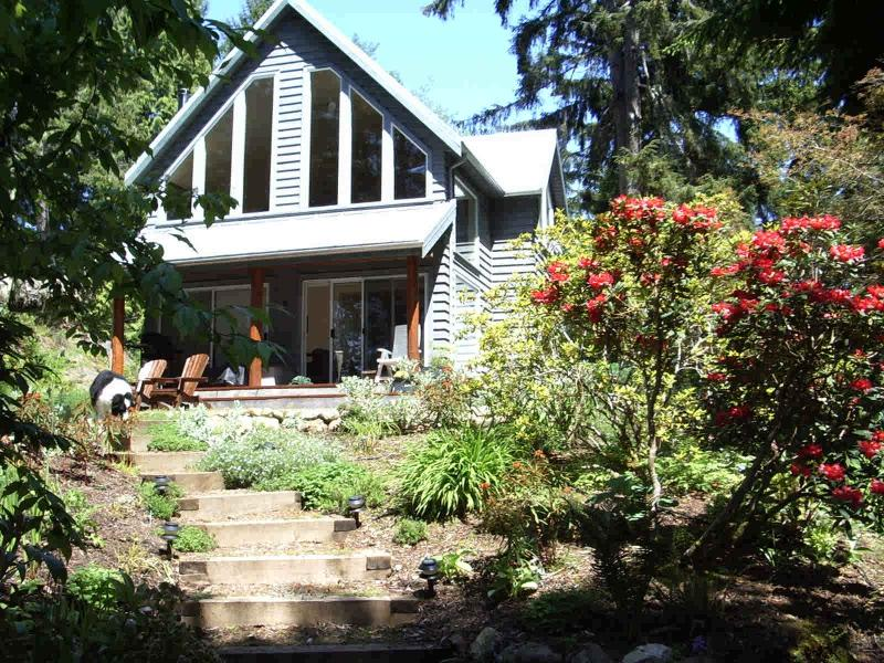Front of Spindrift Cottage - Romantic Spindrift Cottage French Beach Prov Pk - Sooke - rentals