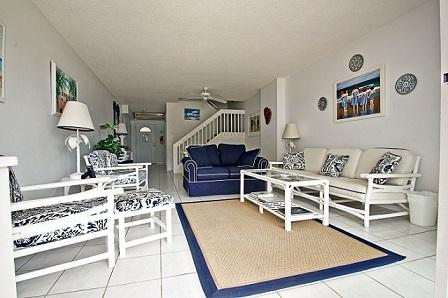 Living Room - Wow View! - #22 Harbour Heights 7MB - Seven Mile Beach - rentals