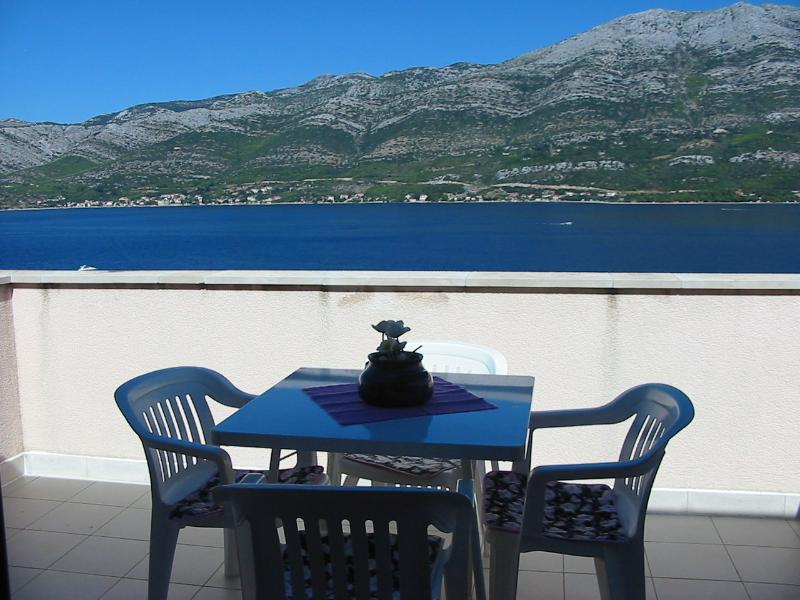 Apartment by the sea in quite place in Korcula - Image 1 - Korcula - rentals