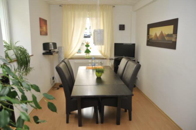 Living Room - Our  3 Star (DTV) Apartment is on the ground floor of a typical half-timbered south German house. - Marbach am Neckar - rentals