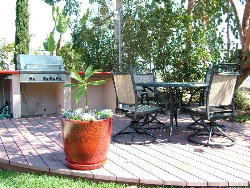Grill, Outdoor Dining Area - Spacious Family Friendly Encinitas Vacation Home - Encinitas - rentals