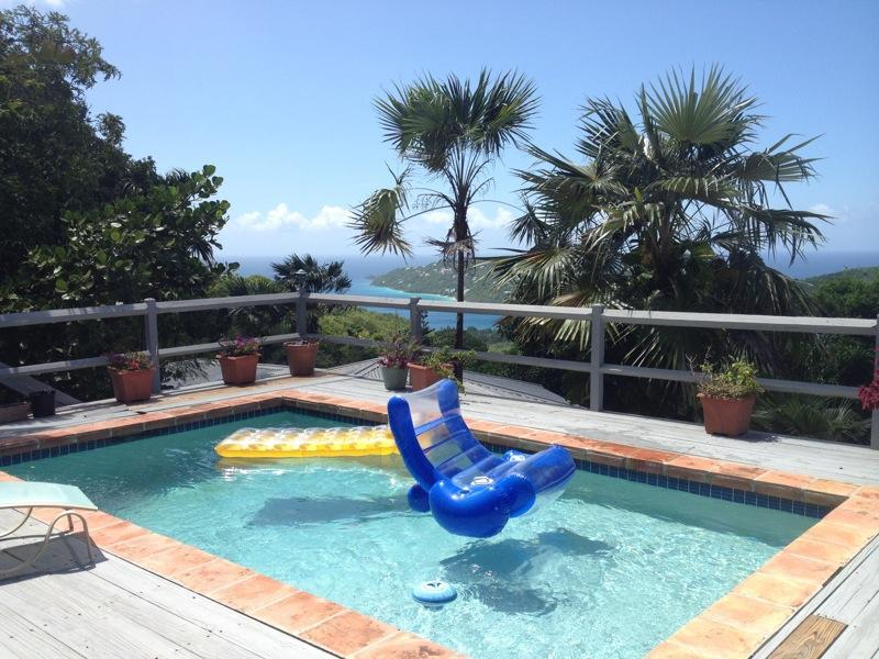 just float around - Romatic Cottage with Pool and Hot Tub, Minutes from Magen's Bay - Saint Thomas - rentals