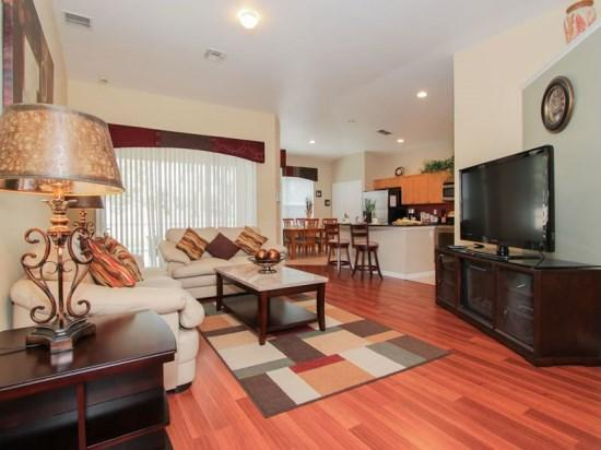 Living Area - WP4P8058KPC Luxury Vacation Haven in Kissimmee with Modern Furnishings - Kissimmee - rentals