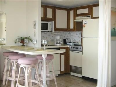 Kitchen and dining area - LOTS OF POOLS/JACUZZIS, STUDIO @ MB RESORT RT1509 - Myrtle Beach - rentals
