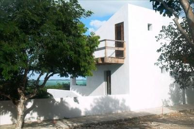 Main House, seen from driveway - Belle Roche Villa - North Caicos - rentals