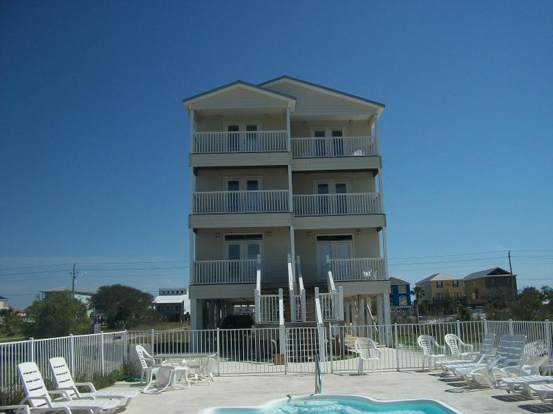 Private Pool Area - Waterfront Home W/Private Pool!  April Nights Still Available! - Gulf Shores - rentals