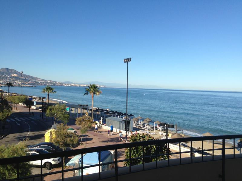 from terrace - Just in front the beach!! - Fuengirola - rentals