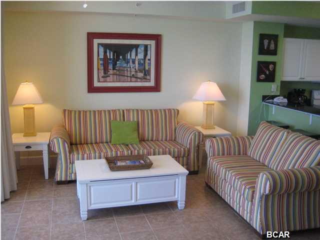 Large Great Room - 1BR 2BA Tidewater Resort Condo, Walking to Pier Park - Panama City Beach - rentals