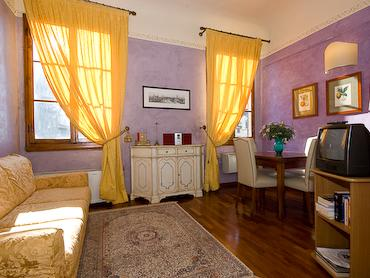 living room - Florence - Magic view on Piazza Signoria ! - Florence - rentals