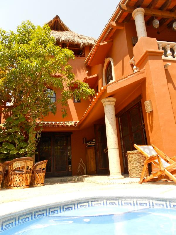 Hacienda-Style  - Casa Coati Exquisite Villa in Ideal Beach Location - Sayulita - rentals