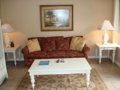 Living room - POOLS/LAZY RIVER/JACUZZI/GYM, MB RESORT 2BR - A140 - Myrtle Beach - rentals
