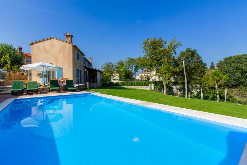 Beautiful Villa with private pool, in central Istria, ideal for families - Image 1 - Pazin - rentals