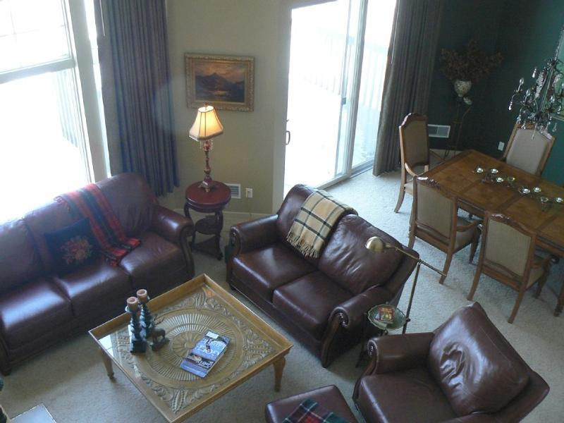 LIVING ROOM - Shanty Creek/ Cedar River  Condo - Bellaire - rentals