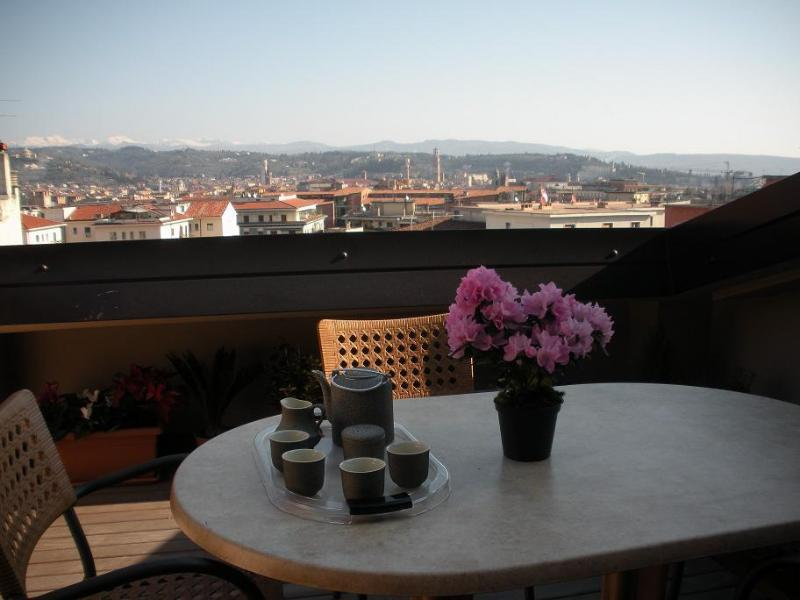 Terrace - Panorama Apartment-stunning view over Verona - Verona - rentals