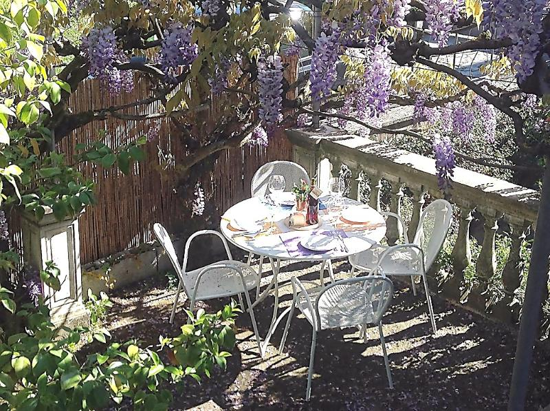 Wisteria pergola - IL GLICINE DI LUCCA, close to the center, parking. - Lucca - rentals