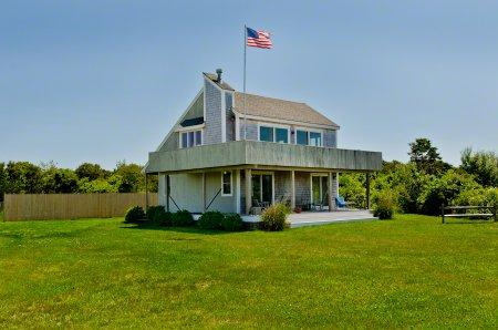 KATAMA CONTEMPORARY WITH SOUTH BEACH WATER VIEWS - KAT SWEL-16 - Image 1 - Edgartown - rentals