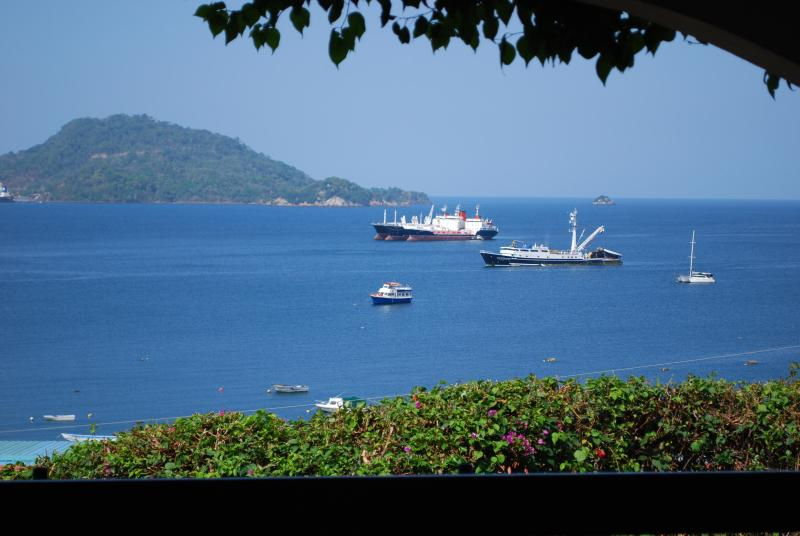 View from almost every room & covered patio - ISLAND  -SEA & SUN.....PERFECT PARADISE!! - Taboga Island - rentals