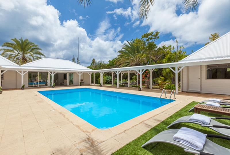 St. Martin Villa 130 Very Comfortable, Secluded And Within Easy Reach Of The Beautiful Terres Basses Beaches. - Image 1 - Terres Basses - rentals