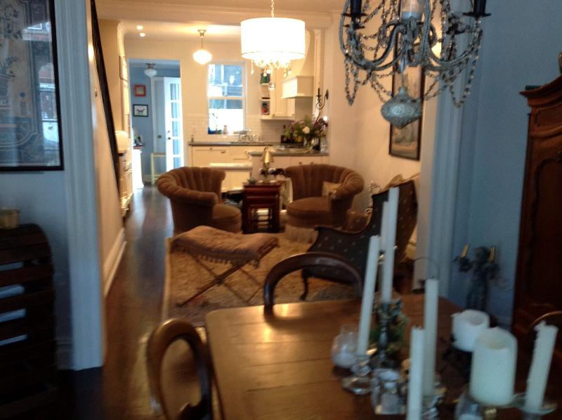 Dining/living room  - Super Bowl Rental - Hoboken - rentals