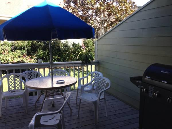 backyard - cozy unit, private beach access condo - Leucadia - rentals