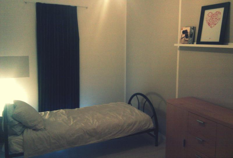 The room and the bed - Quiet, comfy room near city center w/ bicycle - Amsterdam - rentals