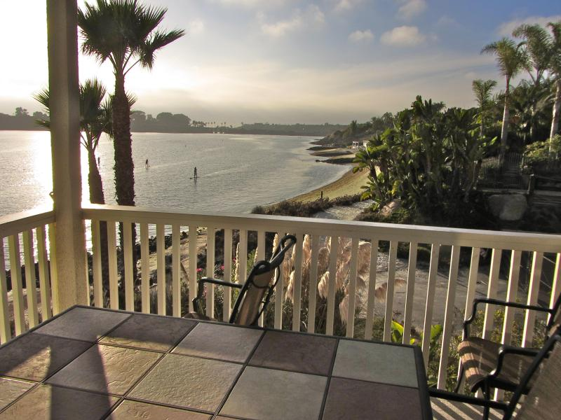 Lagoon/Beach/Sunset view from PRIVATE Balcony! - Front Row Carlsbad Lagoon! Million $ Views! - Carlsbad - rentals