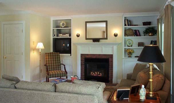 Spacious Living Room - Depot Street Townhouse at the Green Mountain Inn - Stowe - rentals