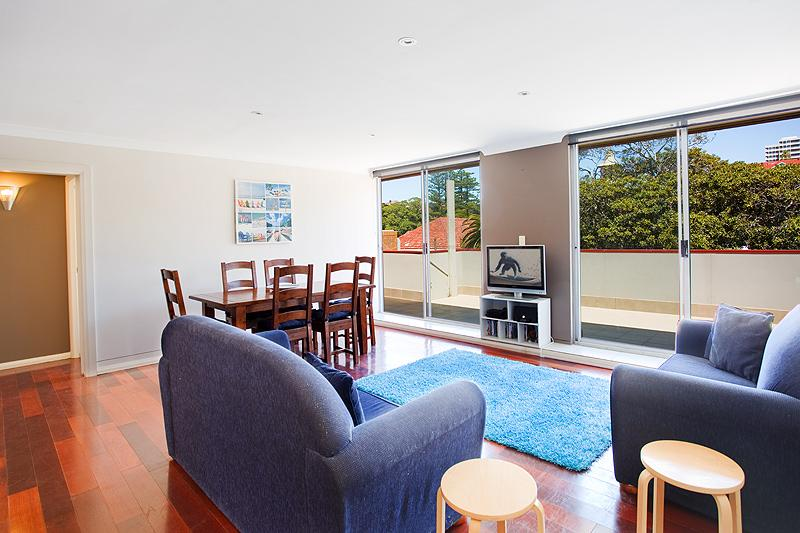 Spacious, light and quiet living area - The Beach at Manly: 250m to beach/corso; Families - Manly - rentals