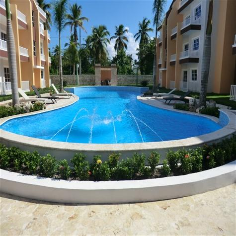 Meters from the beach new 2BR pool and garden view - Image 1 - Punta Cana - rentals